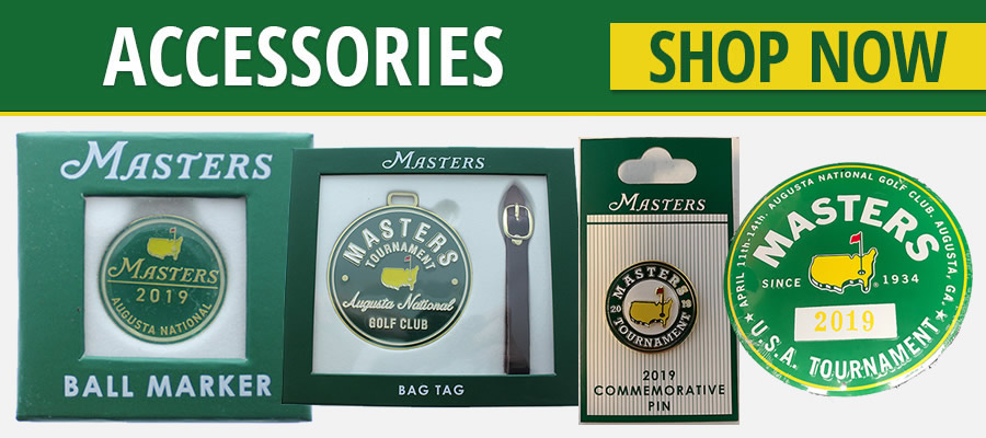 Masters Tournament Golf Accessories