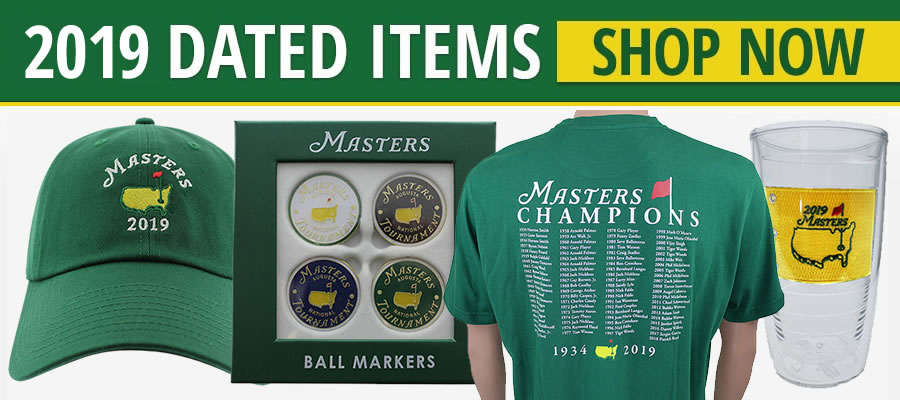 2017 Masters Golf Tournament Dated Items