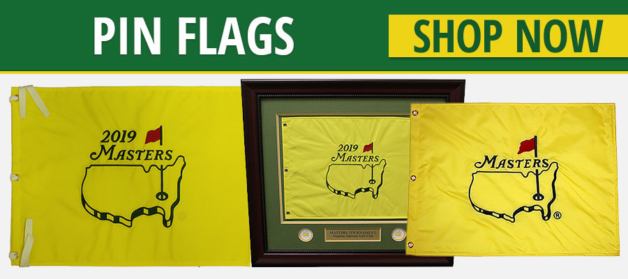 Masters Tournament Pin Flags