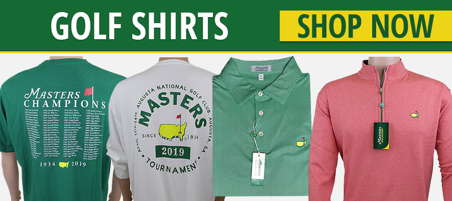08cf986c40f Masters Tournament Golf Shirts