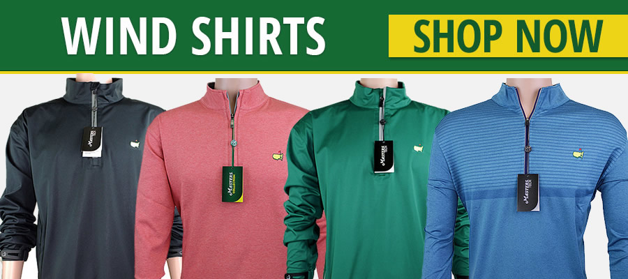 Masters Tournament Golf Wind Shirts